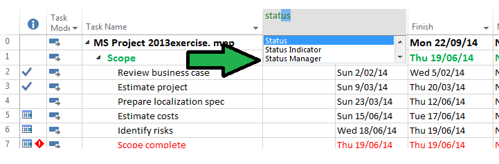status manager